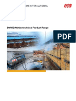DSI USA Geotechnical Product Range Us