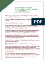 Structura Portofoliului Comisiei Pentru Perfectionare (1)