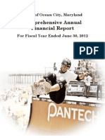 Town of Ocean City MD - 2012 Comprehensive Annual Financial Report