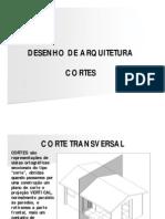 Arquitetura - Cortes