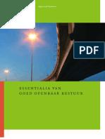 Essentialia van goed openbaar bestuur van de Algemene Rekenkamer Nederland - 2005 -