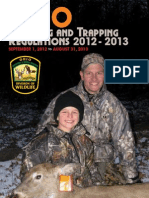 Ohio Hunting and Trapping Regulations 2012 - 2013