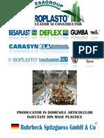 Rohrbeck producator articole injectate din mase plastice