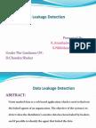 Data Leakage Detectionppt3