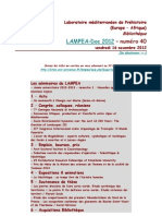 LAMPEA-Doc 2012 – numéro 40 / vendredi 16 novembre 2012