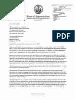 Letter from Rep. Babette Josephs on voting irregularities