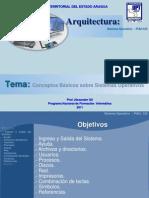 Arquitectura Sistema Operativo-Comandos