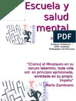 Escuela y Salud Mental (Upel Maracay)