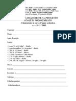 Iscrizione 2012-2013 Dopo Formazione