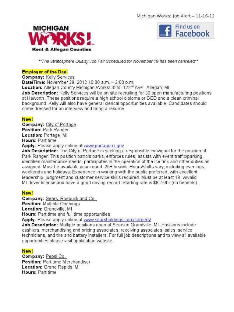Job Blast 11 16 12 Employment Brand