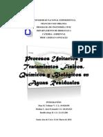 AGUAS RESIDUALES(Parcial3 Ambiental)