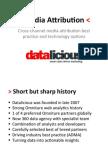 201204 Datalicious Media Attribution Options V5