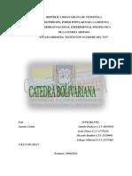 CAMPAÑA DEL SUR catedra