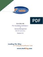 Test King ITIL