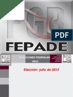 Blindaje Electoral 2012