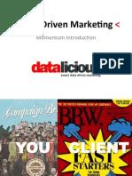 Smart Data Driven Marketing