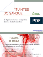 CN9-Constituintes Do Sangue