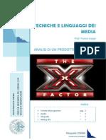 Tesina X Factor