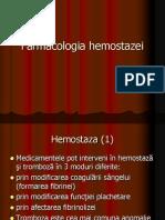 Farmacologia hemostazei