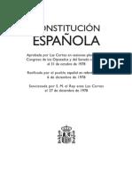 Constitución Española - Texto consolidado