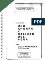 El regadío en Aragon 1995 Informe Tabuenca
