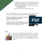 ProvaPortugus-Ingls-Espan-Biologia-historia-2008.2 - Cópia