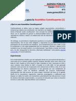 Fundamentos Para La Asamblea Constituyente