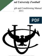 2011 Summer Training Manual