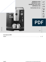 Download Manual Jura Impressa m30 x30 Scala Scalavario English