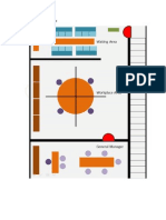 Administration plan (office floof plan) for business plan project