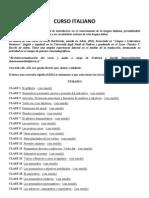 Curso Italiano (40 Lecciones)