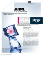 Total Health Dentistry - Dental Economics article on inflamation