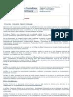 Código de Ética del Contador Público Peruano