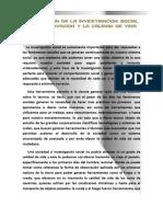 Importancia de la investigación social en la innovación y la calidad de vida