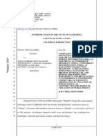 Susan Vinci-Lucero Wrongful Termination documents