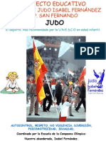 Judo Club Alicante San Fernado PGA 2012-13