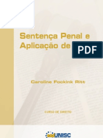 Livro Sentenca Penal e Aplicacao Da Pena Alterado