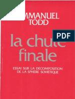 La Chute Finale-Emmanuel Todd
