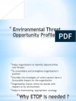environmentalthreatopportunityprofile-12908838383967-phpapp02