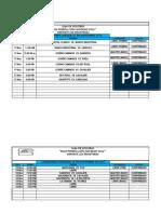 Calendario Juegos Copa Navidad