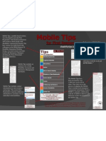 Poster #043 - Mobile Tips