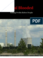NAACP Coal Blooded Report