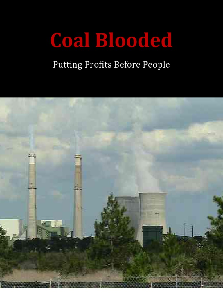 NAACP Coal Blooded Report | Fossil Fuel Power Station