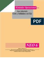 norma -estandar operacionalGases Industriales-corte y Soldadura Con Gas