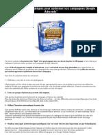 """eBook Gratuit """"15 Stratégies Pour Optimiser Vos Campagnes Google Adwords"""""""