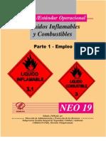 norma -estandar operacional Liquidos Inflamables y Combustibles