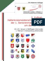 Hallenkreismeisterschaften 2009