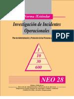 Investigacion de Accidentes Operacionales
