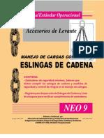 Manejo de Cargas Con Eslingas de Cadena-Accesorios de Levante
