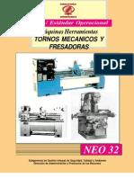 Norma de Uso Maquinas Herramientas -Tornos Mecanicos y Fresadoras
